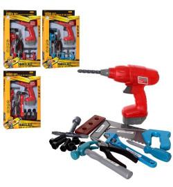 Набор инструментов 932-932-2 (48шт) дрель(механич),молоток,плоскогуб,2 вида, в кор-ке,26-40-6см