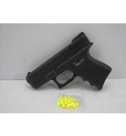 Пистолет 817 (384шт/2) пульки в пакете 14*12*3 см