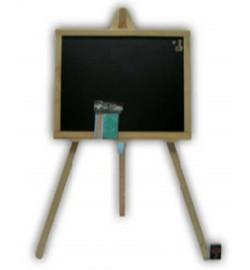 Мольберт для малювання на 3 нозі 70 * 45см одностороння