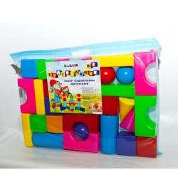 Будивельнык №3 в сумке,кубики
