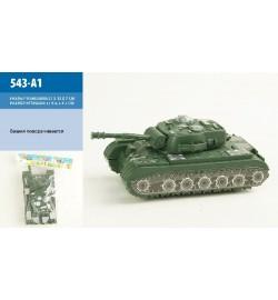 Военная техника инерц 543-A1 (240шт/2)в пакете 16*9*7см танк