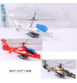Вертолет инерц 2988/A/B (144шт/2) 3 вида, в пакете 35*12*7см самолет