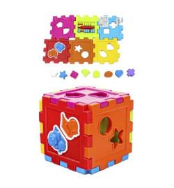 Логический куб-сортер, со счетами (18шт/уп)