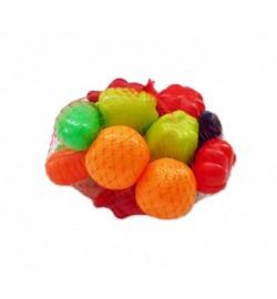 Набор Фрукты-овощи - 16 предметов Ф180 мм кол. в уп.16шт