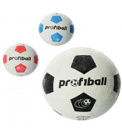 М'яч Футбольний VA 0008 Official (50шт) Гума, Розмір 4, Grain, 290 Гр