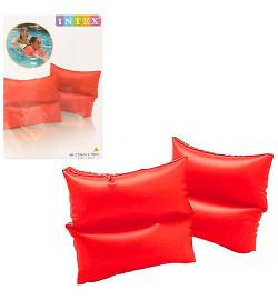 Нарукавник 59640 (72шт) красный, 19-19см, 3-6лет, винил, 2шт в кульке, 16-25-1см