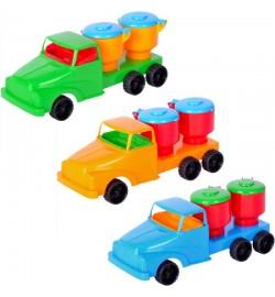 Машинка Денни мини молоковоз   №4,машинка 18 x 7 x 6 cm кол. в уп. 24шт