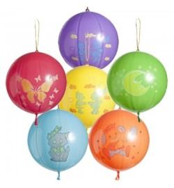 1104-0010 Кулька Панч-бол з малюнком асорті (50 шт) надувні кульки